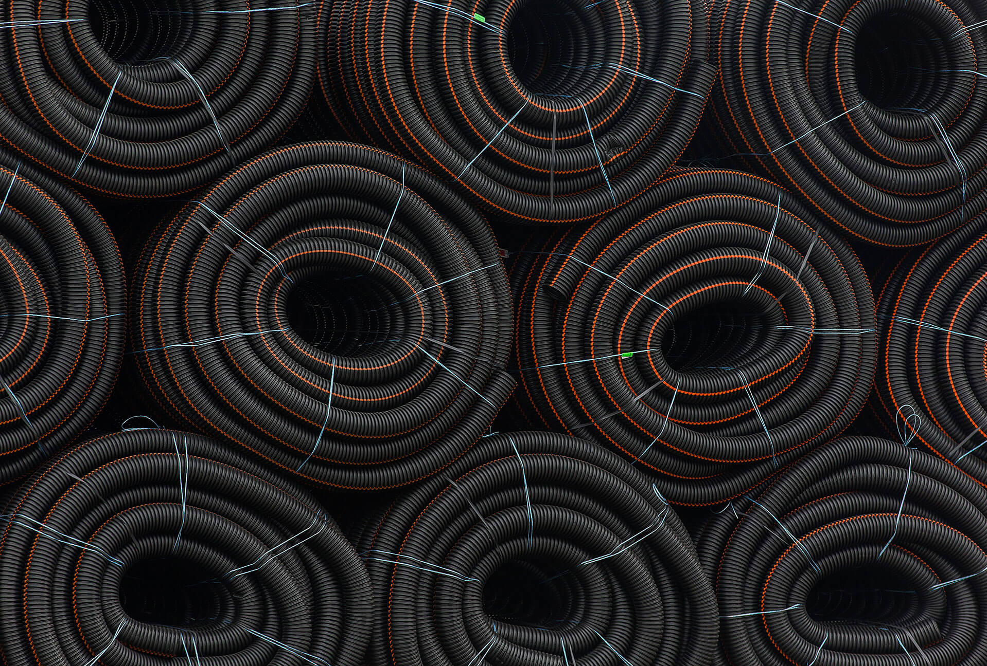 Corrugated Drain With Filter Sock Pipe