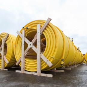 Polytubes Gas Distribution